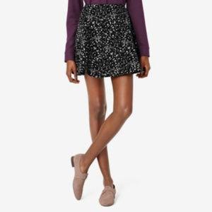 Kate Spade Sunday Black 'Galaxy' Circle Skirt